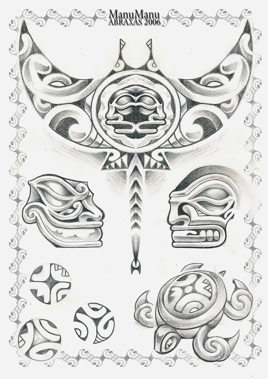 Polynesian by ManuManuTattoo