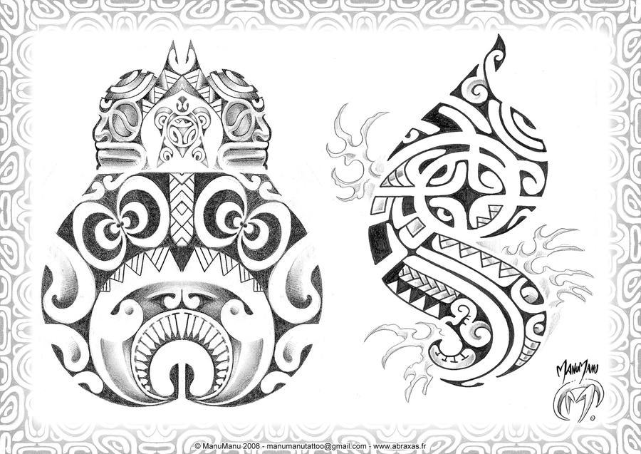 Polynesian 02 by ManuManuTattoo