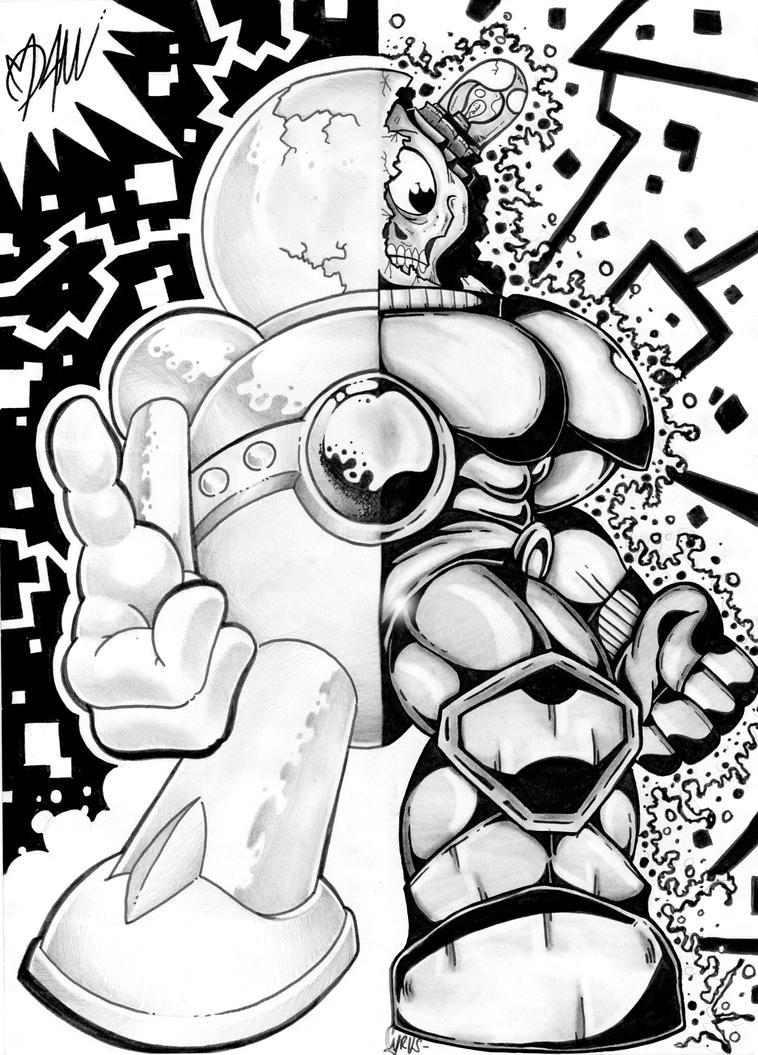 ArtFusion 01 by ManuManuTattoo