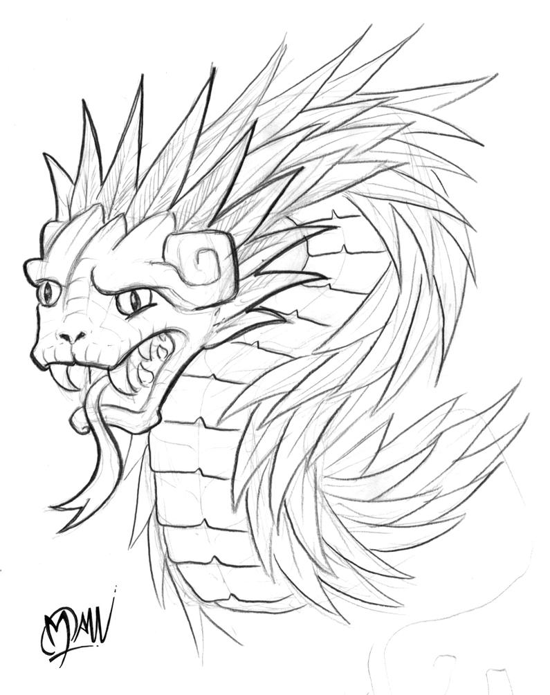 Quetzalcoatl by ManuManuTattoo on DeviantArt