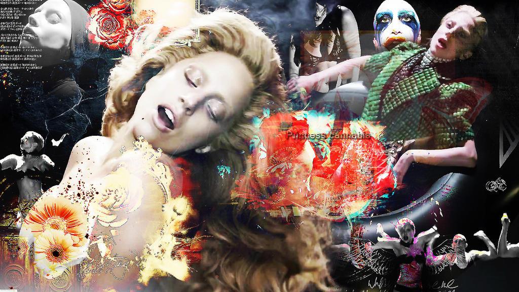 Lady Gaga-Applause Wallpaper by Princesscannabis on DeviantArt