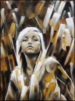 sister's portrait by danieleski