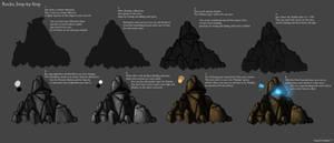 Step by Step Tutorial: Rocks by Frostlines