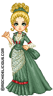 Victorian lady by mochichan