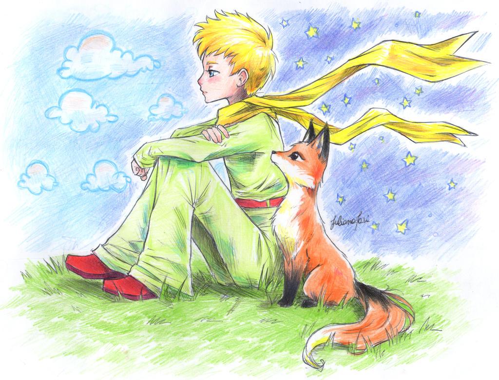 Как нарисовать рисунок маленький принц
