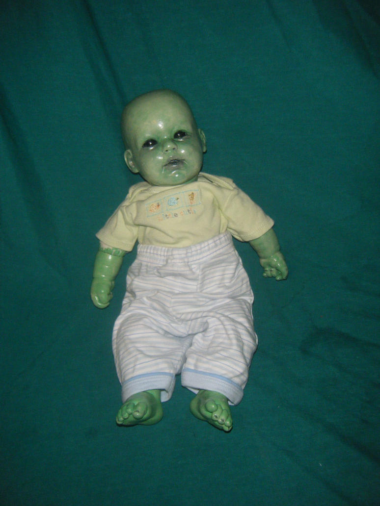 Fantasy Alien Spirit Baby Cloth Doll 21 outfit toy