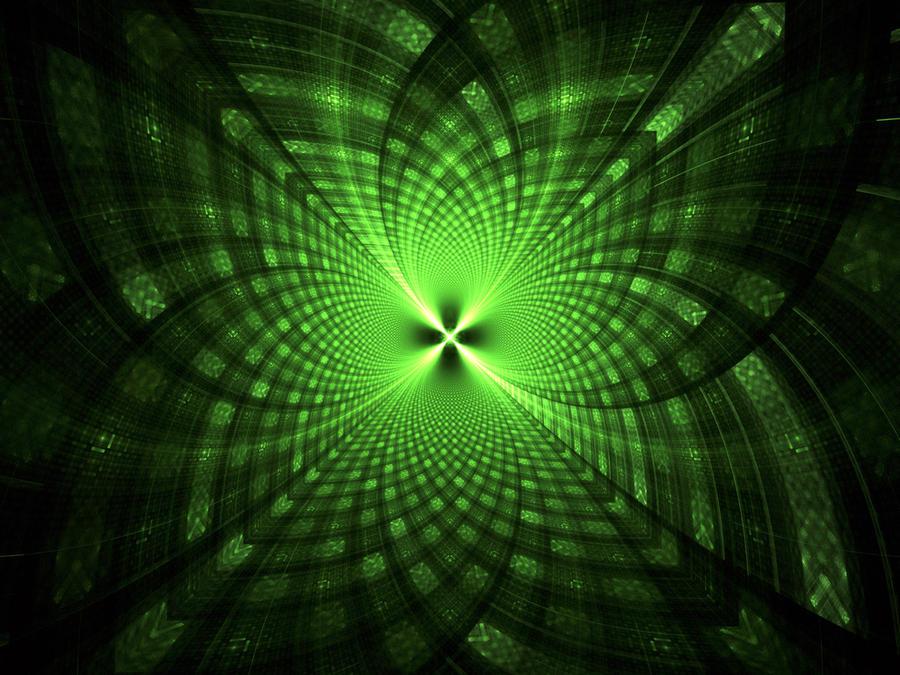 Green radiation by hmn