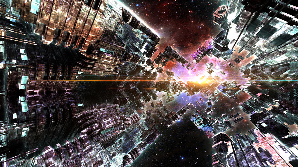 Infinite space to new horizons by hmn