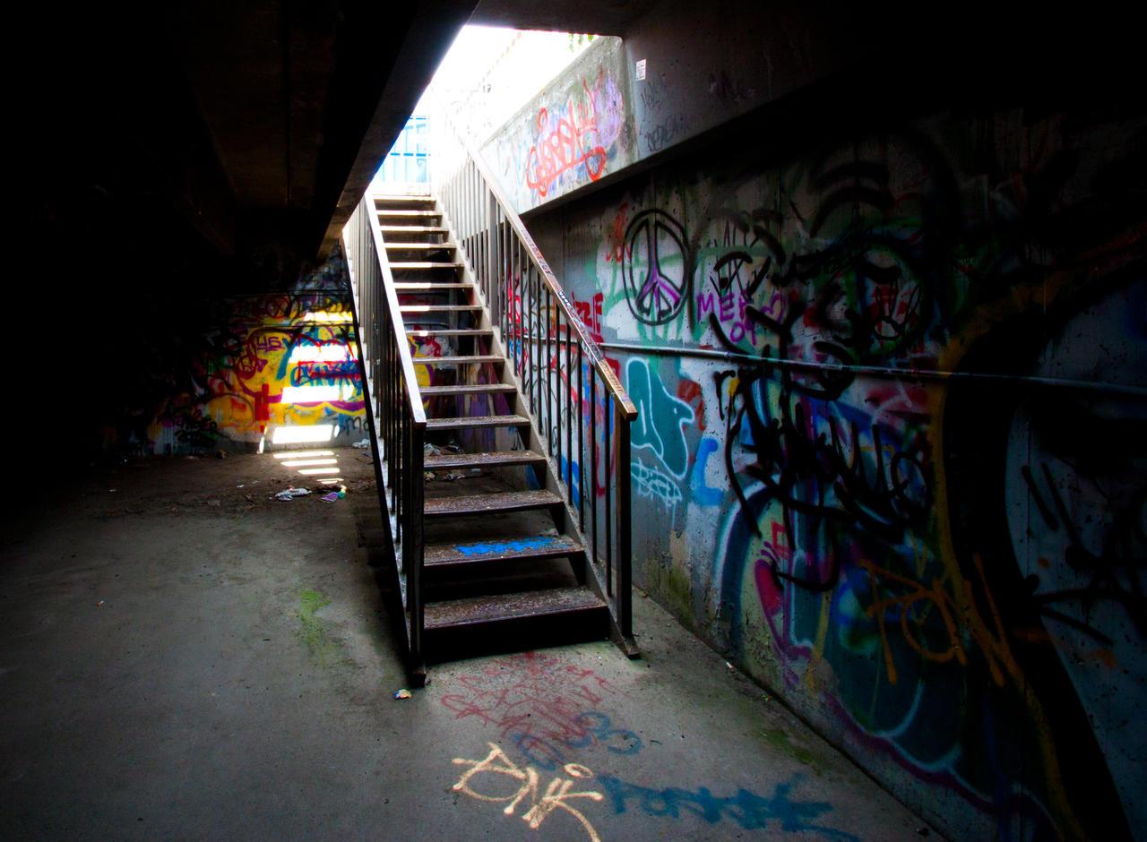 Parking Garage by 4everN3rdy