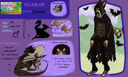 .:AoO App:Vladimir:. by KingSizedKilla