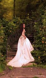 Her wedding by blackthornart