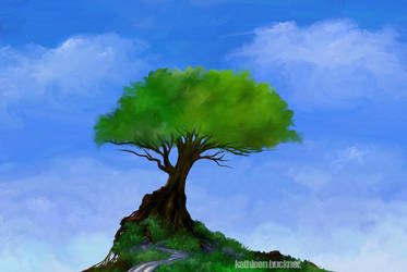 tree by blackthornart