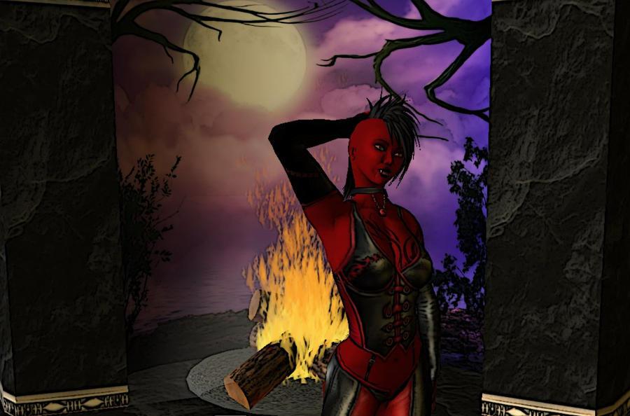 Demonic Bloodrayne-esque avi 4 by ForsakenTenshi