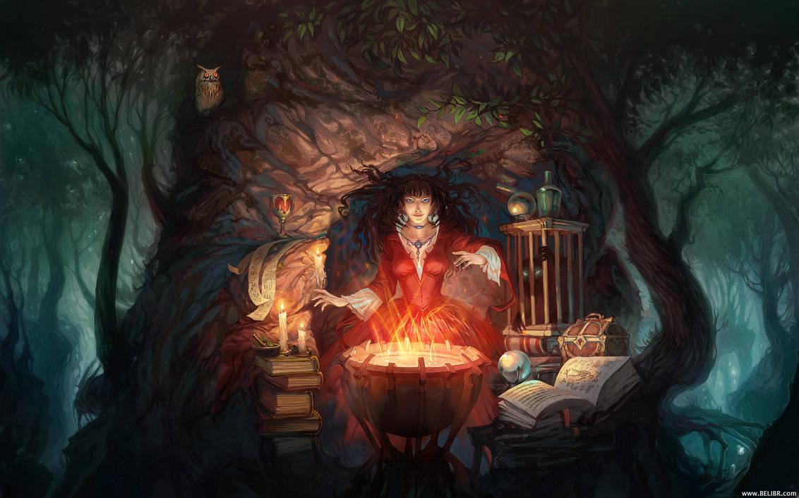 Sorceress by Belibr