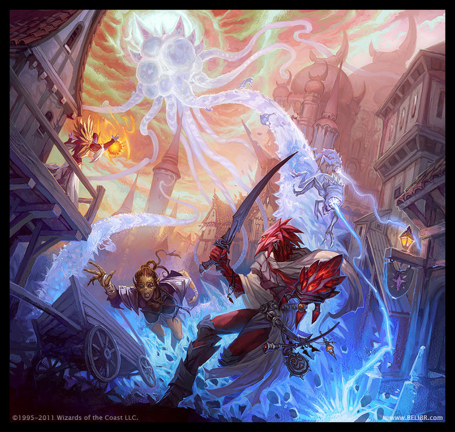 Astral Kraken by Belibr
