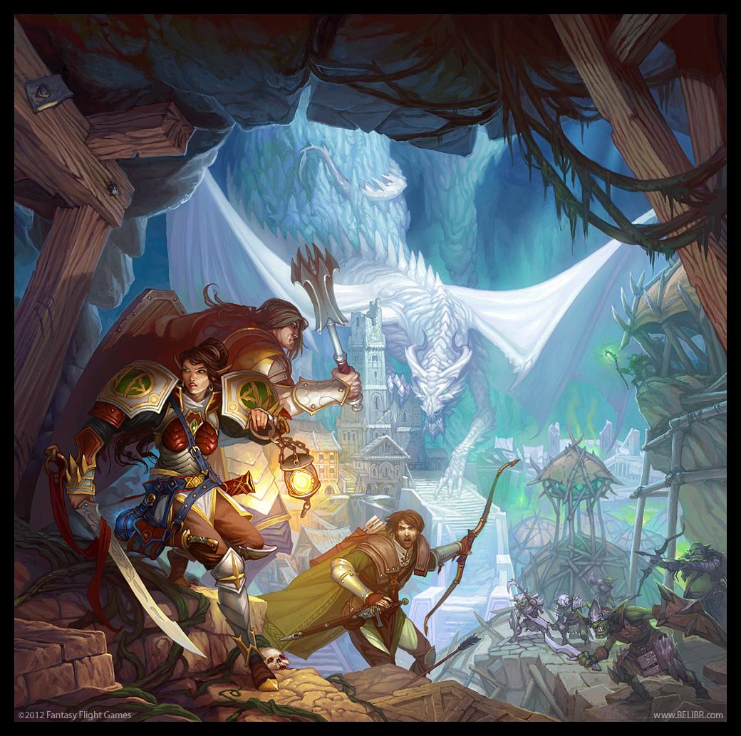 Descent: Journeys in the Dark by Belibr