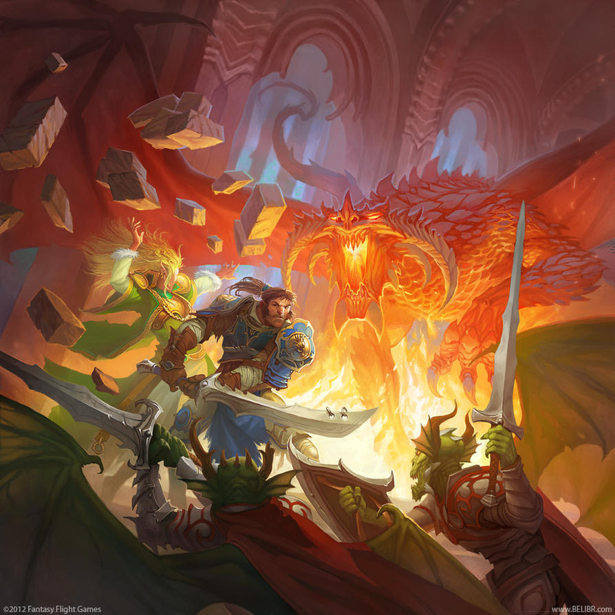 Lair of the Wyrm by Belibr