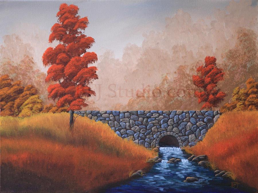 Autumn Bridge by jonesbf