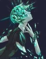 Phosphophyllite (Houseki no Kuni) by iSnowFairy