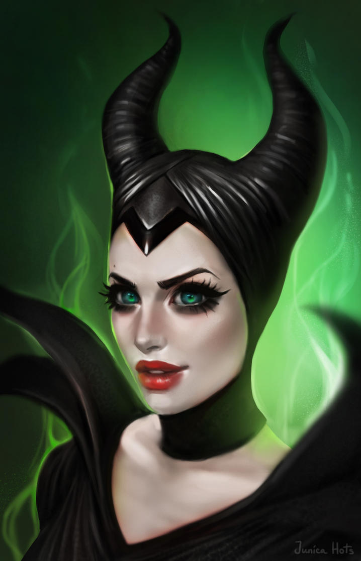 Maleficent by Junica-Hots