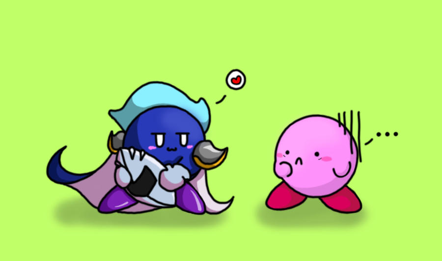 kirby and MK by world-dominashunXD
