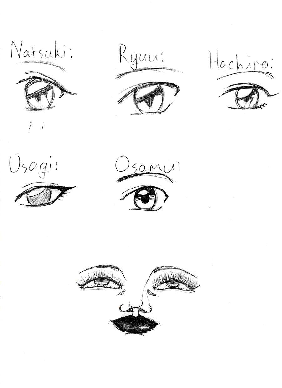 Character Eye Chart Thingy by Venny9o6 on DeviantArt