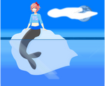 Selkie Sayori by sharkboy17