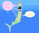 Voretober 4- Mermaid Lucoa's Offering