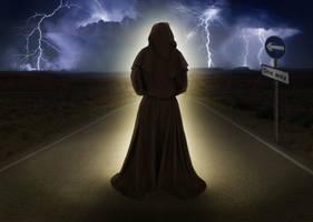 Monk's way by JaKlaRo