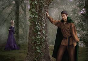 Robin Hood and Maid Marian (maybe) by JaKlaRo
