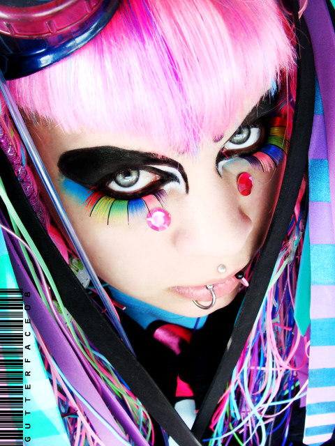 chicas cyber goth