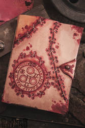 Handmade Leather Silent Hill Journal (AUCTION) by gutterface