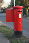Stock English Post Box by Sheiabah-Stock