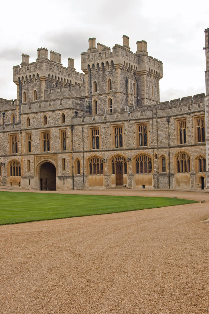 Windsor Castle Stock 11 by Sheiabah-Stock