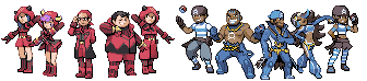Team Magma Aqua by Muzyun