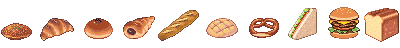 Many different bread by Muzyun