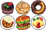 Foods(free to use) by Muzyun