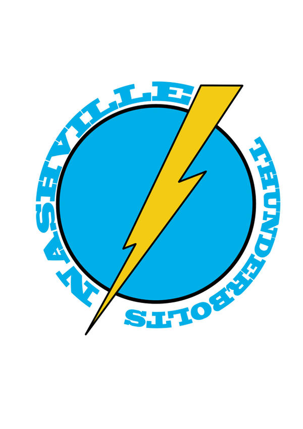 Nashville Thunderbolts Logo By Hellyes Design On Deviantart
