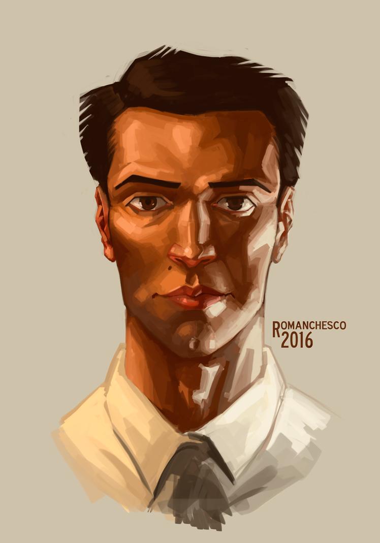 Owen portrait by RealRomanchesco