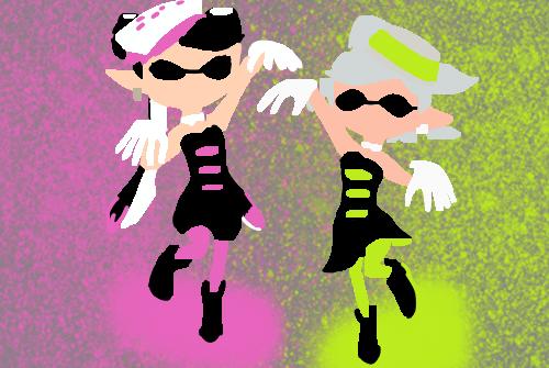 Callie And Marie Wallpaper: Tetra1143 (Kat)