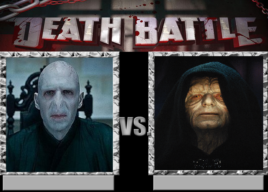 Voldemort vs Sidious by ManhattonOctoberfest