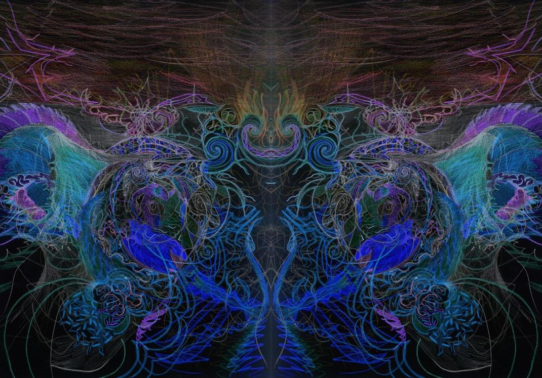 Daemonic Deity by Civyx