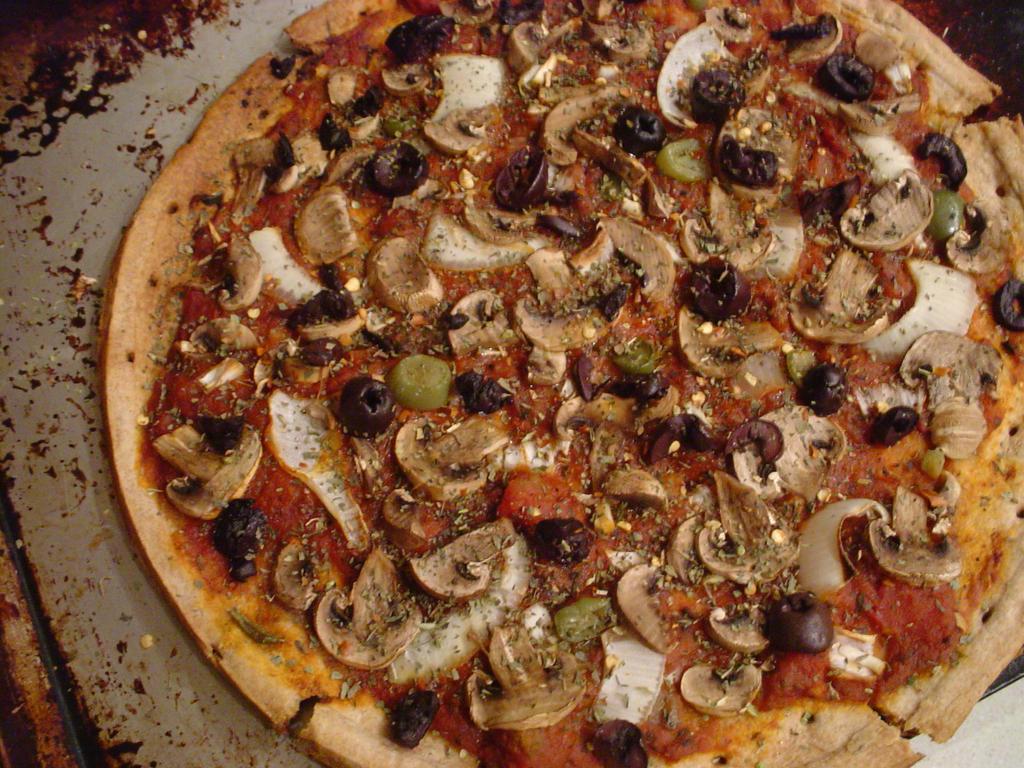 Vegan Pizza II by Civyx