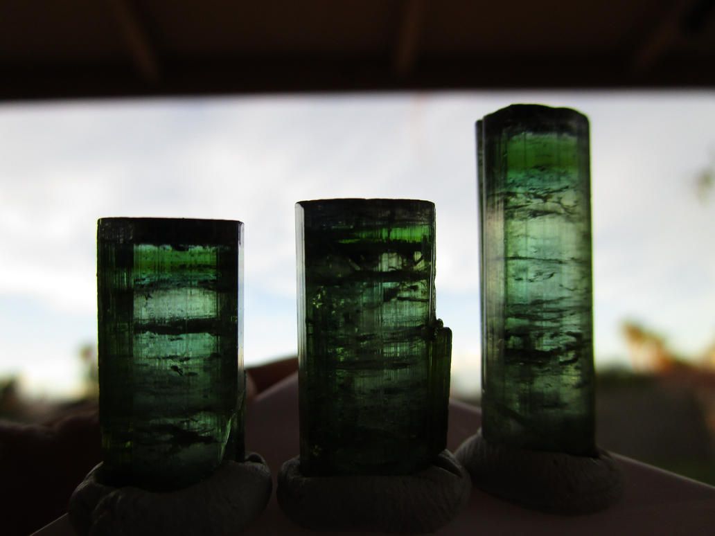 Brazilian blue green tourmaline by Civyx