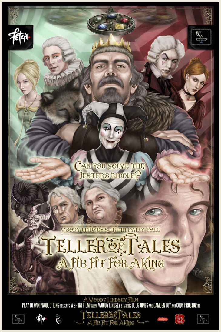 TELLER OF TALES MOVIE POSTER by Woody-Lindsey-Film