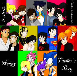 New Age of Heroes: Fathers Day by LunarSpawnSerenata