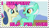 NEW Support MLP Yuri stamp by S-Laughtur