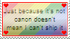 Not canon =/= cannot ship