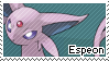 Espeon Stamp by S-Laughtur