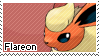 Flareon Stamp by S-Laughtur